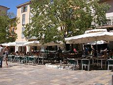 Oud Nice op het plein